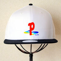 Play Stay Show CAP  White/BLK