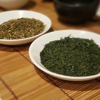飲み比べセット 高級深蒸し煎茶&高級かりがねほうじ茶【MARUFUJIオリジナル】