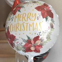 バルーン単品 《Merry Christmas ホワイト》