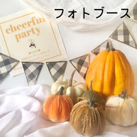 cheerful party フォトブース