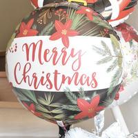 バルーン単品 《Merry Christmas グリーン》