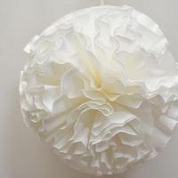 Flower pompon