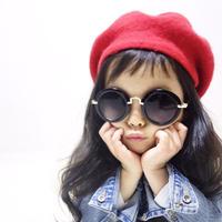 kids☻ベレー帽 red