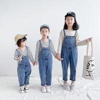 kidsユニセックス【80-130】デニムサロペット#1205