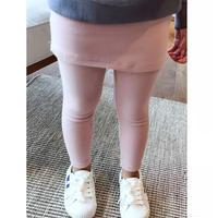 ★kids☻レギンス付きスカート【ピンク】