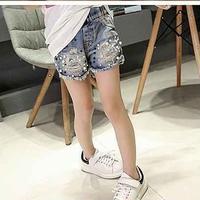 服部様専用  kids☻stone denim short pants140
