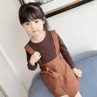 kids☻トップス+サロペットスカート【2点セット】