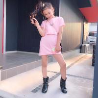 ★kids☻重ね着デザインワンピース【ピンク】#140