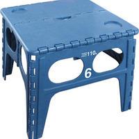 フォールディングテーブル 折りたたみテーブル 収納スマート ブルー