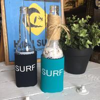 Smilestoreオリジナル クージー SURF サーフ ターコイズ