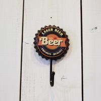 クラウンキャップ フック インテリア Beer ビール