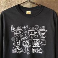 SMOOCH×EATCHO Long sleeve T-shirts 黒black