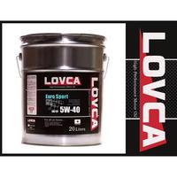 ラブカオイル LOVCA EURO-SPORT 5W-40 20L