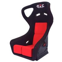 GoodGunオリジナル 標準生地 レーシングフルバケットシート カラー:ブラック/レッド