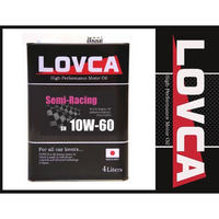 ラブカオイル LOVCA SEMI-RACING 10W-60 6L