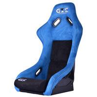 GoodGunオリジナル アルカンターラ調 フルバケットシート カラー:ブルー/ブラック