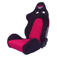 GoodGun×N-styleコラボ 標準生地 セミバケットシート カラー:ブラック/ピンク