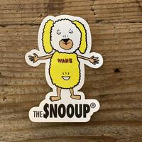 the  SNOOUP ドルーステッカー