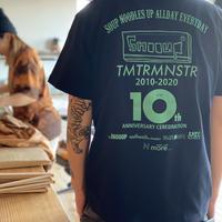 10th ANNIVERSARY Tshirts T04