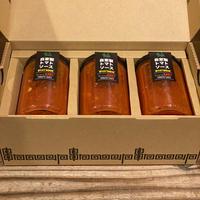 トマトパスタのようなラーメン専門店のEASY SAUCE!!(3本セット)箱付き