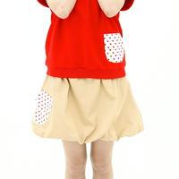 ラクダ色のふわふわなバルーンスカート♡