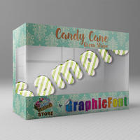 Candy Cane(Green Stripe)
