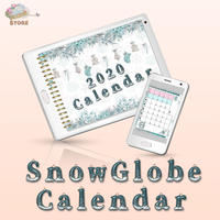 【SnowGlobe Calendar 2020】デジタルカレンダー