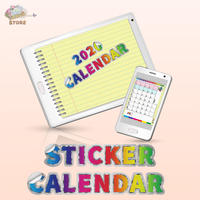 【Sticker Calendar 2020】デジタルカレンダー