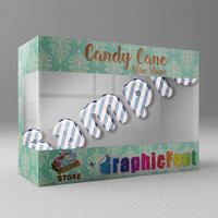 Candy Cane(Blue Stripe)