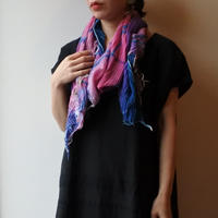 [tamaki niime 20SS-046 ] print shawl MIDDLE コットン100%