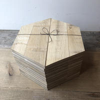 ウッドタイル Hexagon-rough 10枚SET