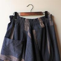 [tamaki niime chotan-W006] chotan skirt wool