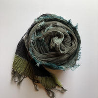[tamaki niime] roots shawl-middle  RS-M-097