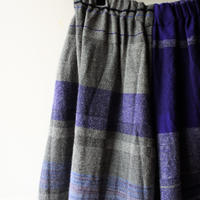 [tamaki niime] wide pants-short WP-S-w001
