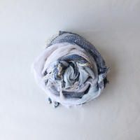 [tamaki niime 20SS-070] roots shawl MIDDLE コットン100%