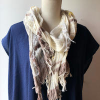[tamaki niime] roots shawl-middle  RS-M-095