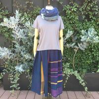 [tamaki niime ]  wide pants short WP-S-011 コットン 100%