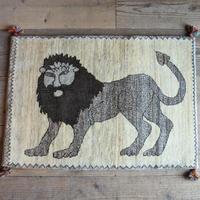 ギャッベ 〔リーズ〕 19608/Lion
