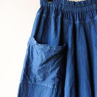 [tamaki niime]  きぶんシリーズ chotan skirt(藍)KI8-CTS