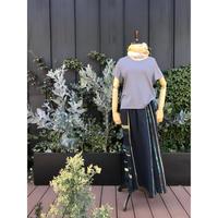 [tamaki niime 20SS-026] ポワンスカート long コットン 100%