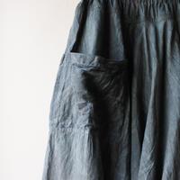 [tamaki niime]  きぶんシリーズ chotan skirt(墨藍)KI8-CTS
