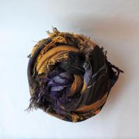 [tamaki niime] roots shawl-big RS-BW-005