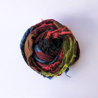 [tamaki niime RS-B-040] roots shawl BIG cotton
