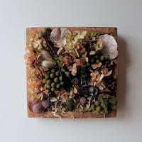 Botanical Arrange Wood Frame square1