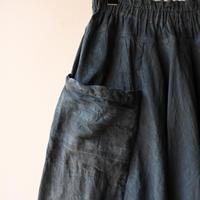 [tamaki niime]  きぶんシリーズ tarun pants-long(墨藍)KI8-TPL