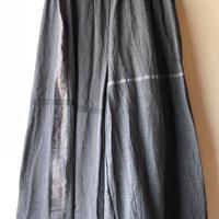 [tamaki niime] wide pants-long  WP-L-hazuki