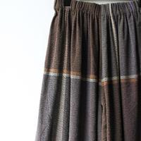 [tamaki niime] wide pants-short WP-S-w002