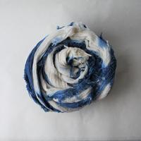 [tamaki niime]  きぶんシリーズ roots shawl-big(板締め)KI8-CB