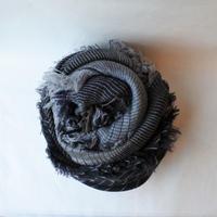 [tamaki niime] roots shawl-big RS-BW-004