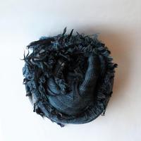 [tamaki niime] roots shawl-big RS-BW-001